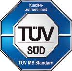 TÜV zertifiziert: Kundenzufriedenheit